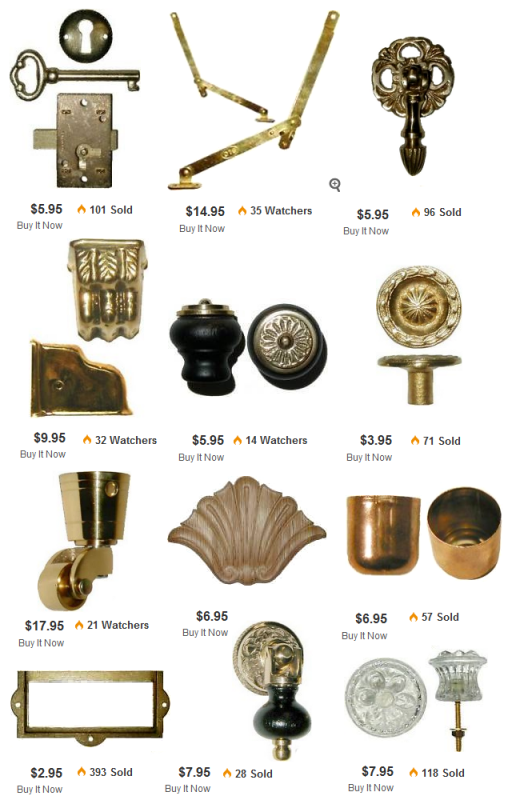 Furniture Hardware On Ebay