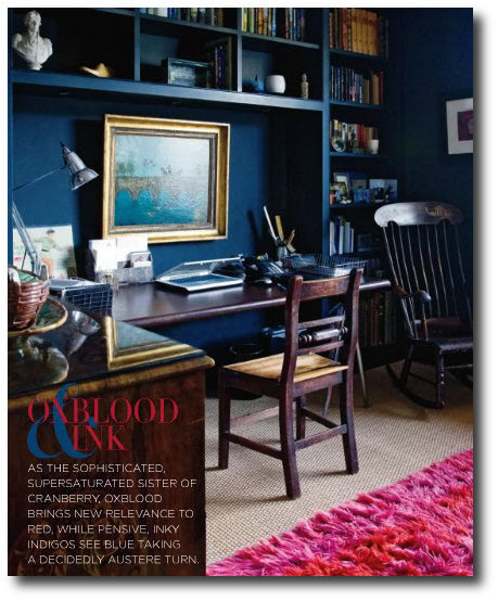 The October issue of Style at Home