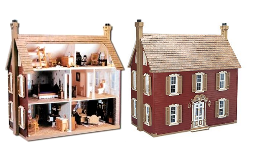 The Willow Dollhouse Kit From Amazon $90
