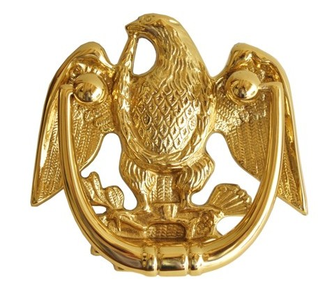 bronze eagle door knocker