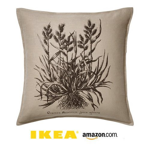 kea Blue White Botanical Nature Throw Pillow Cover Cushion Sleeve Blavinge