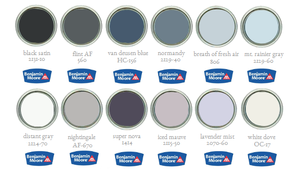 Benjamin Moore's Paint Palette Trends For 2014