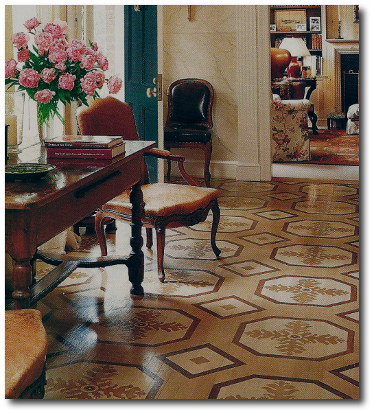 Stained and Stenciled Floors «Sunny Goode's Blog