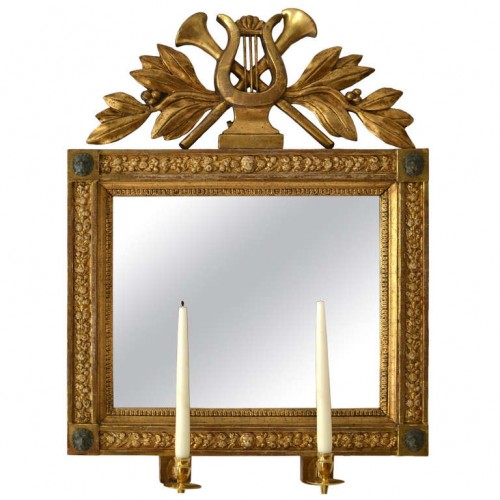 Swedish Empire Giltwood Mirror, Gothenburg circa 1820 Lundgrens Antikhandel