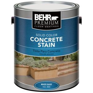 Behr Concrete Stain In Solid