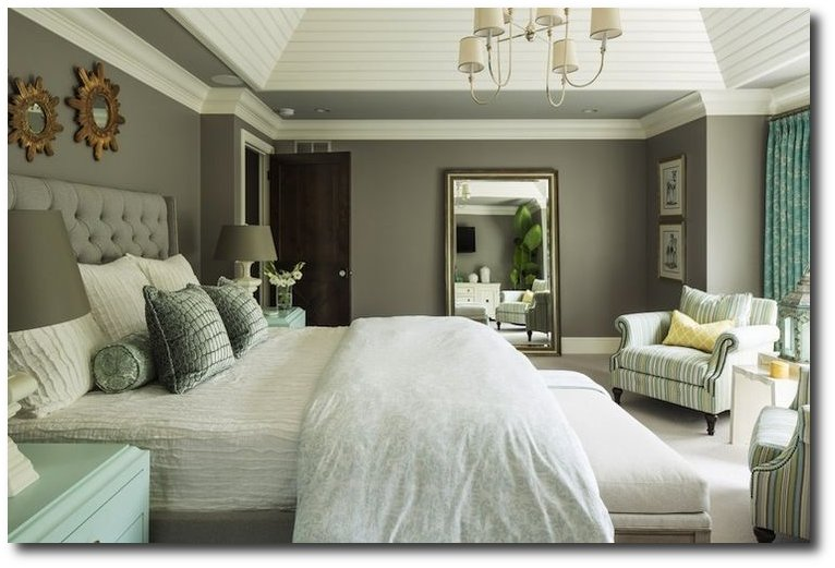 Grey Bedroom Accent Wall Ideas