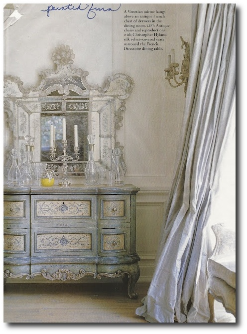 Decorating With Venetian Mirrors