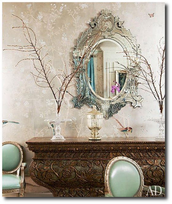 decorating with venetian mirrors sharon and ozzy osbourne at home digest