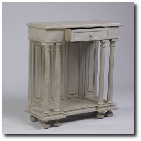 French Style Painted Console - $295 Great Gatsby's Auction Gallery Atlanta