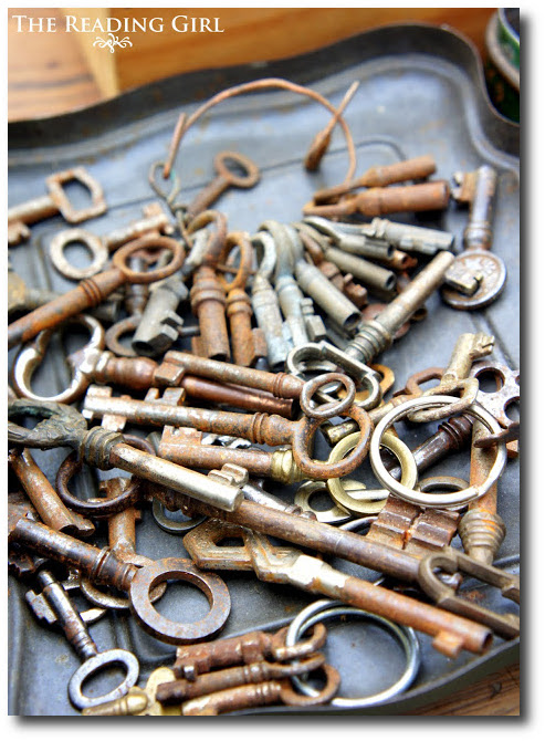 Old Rusty Keys Seen At The Reading Girl Blog