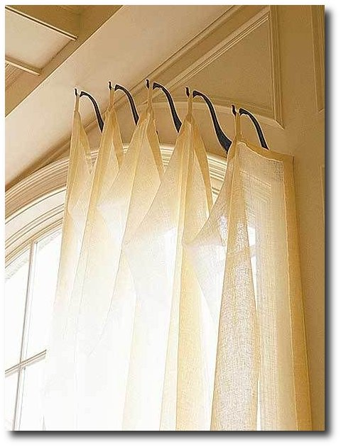 Window Coverings With Hooks
