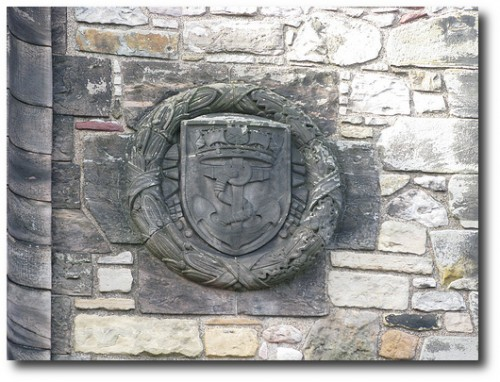 Edinburgh Castle Architectural Features by Aberystwyth Online