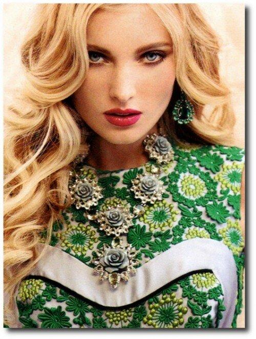 Elsa Hosk For Elle Russia May 2012