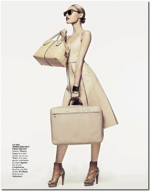 Envies De Nude for Grazia March 2013