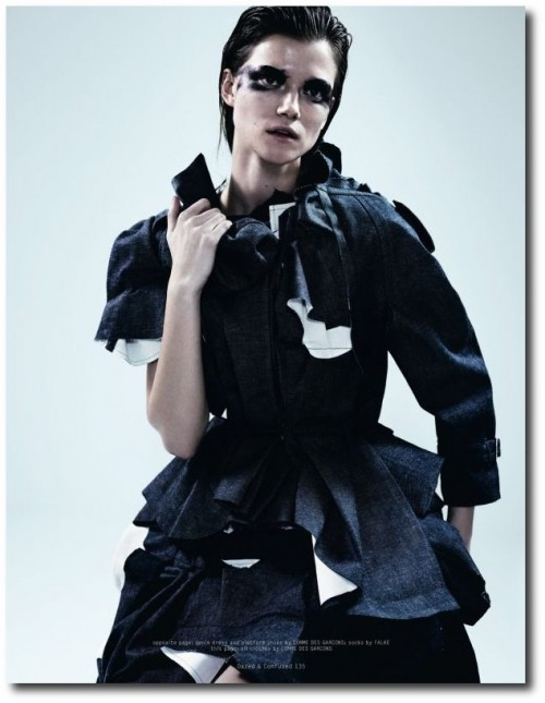 Kasia Struss by Josh Olins for Dazed & Confused April 2013 - 2