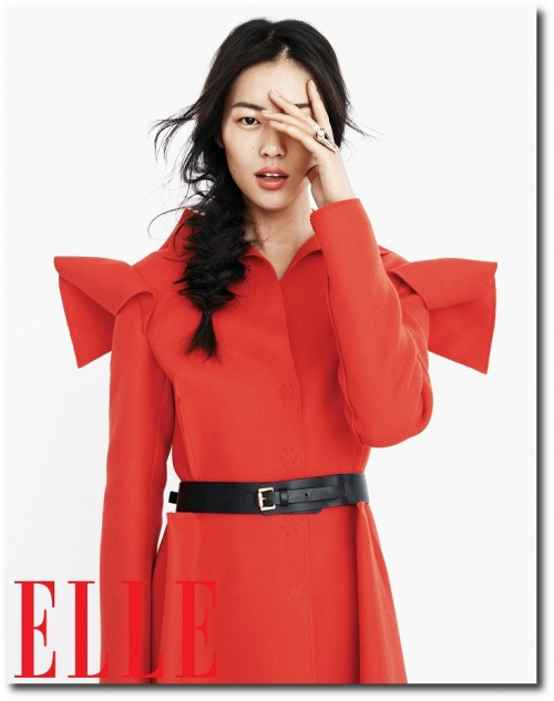 Liu Wen for Elle China's September Issue