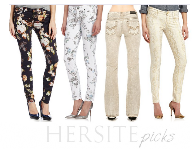 Meranda's Favorite Denim Picks Florals