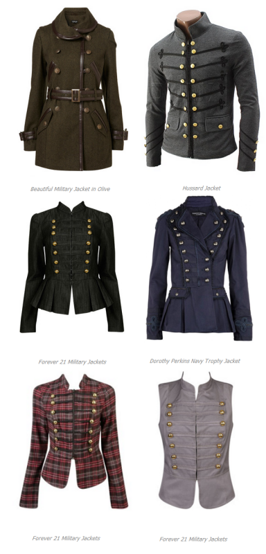 Military Jacket Updates Seen On Hersite