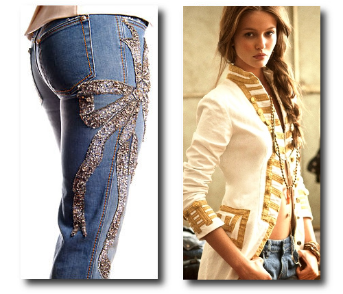 Ralph Lauren Denim & Supply 2013, Swarovski Embellished Jeans