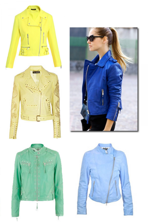 Spring Fall Leather Jackets