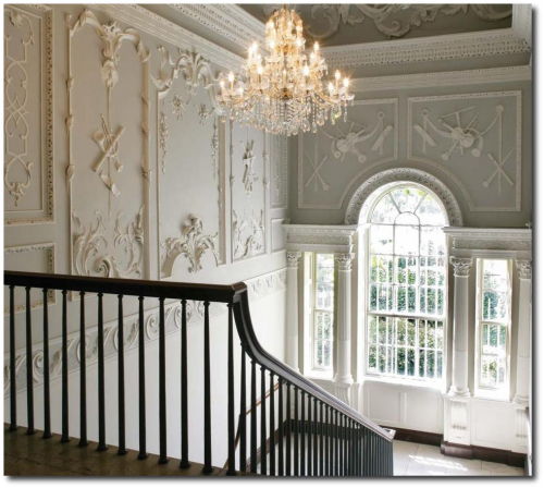 The Most Beautiful Baroque Plasterwork In Dublin- The Regency Furniture