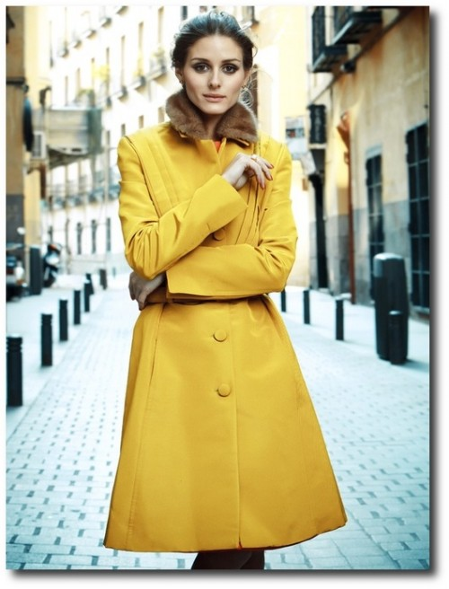 Yellow Coat -yourtruecolor.tumblr