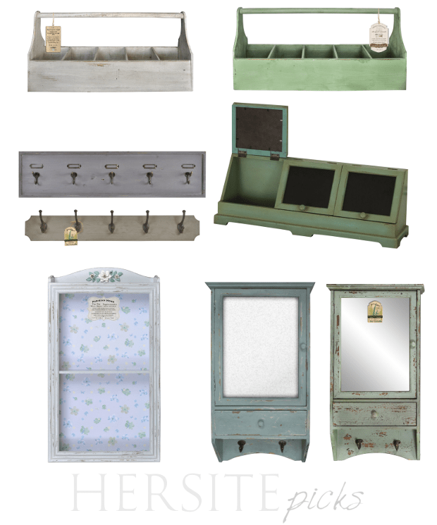 Cottage Shabby Country Painted Accessories- Best Picks From Hersite Blog