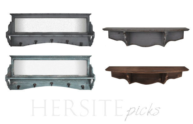 Hersite Picks Country Painted Shelves