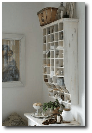 Primitive Hanging Cabinets And Shelves