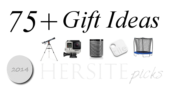75 Gift Ideas For 2014