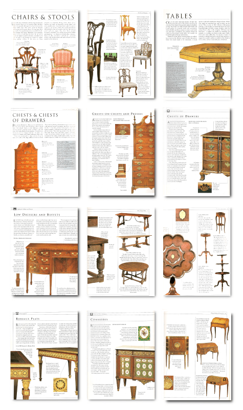 Furniture Interior Design Guide ~ A must have antique furniture identification guide
