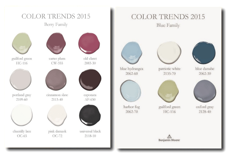 benjamin moore 2015 paint shades berry family blue family