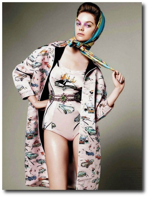 Elle US March 2012 Editorial - Gwen Loos