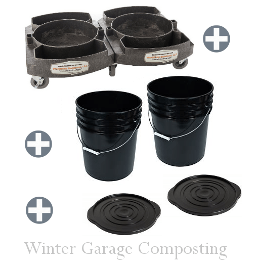 Garage Winter Composting Ideas
