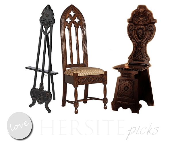 Gothic Home Decor Picks From Hersite