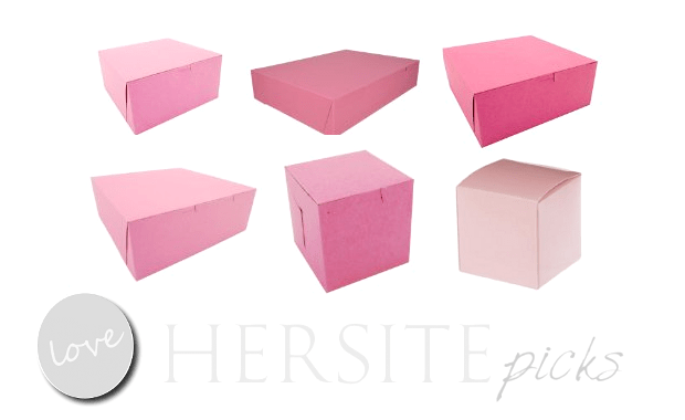 Pink Boxes For Gift Giving