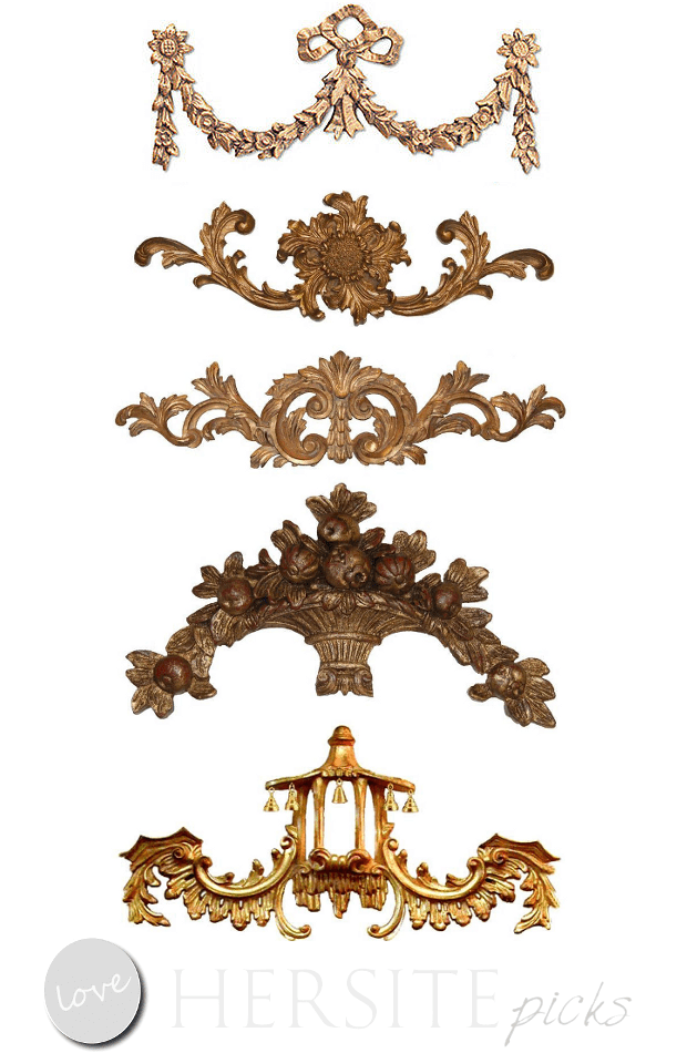 Furniture Appliques. Affordable French Furniture Appliques
