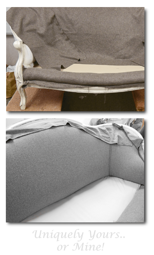 How To Upholster A Settee