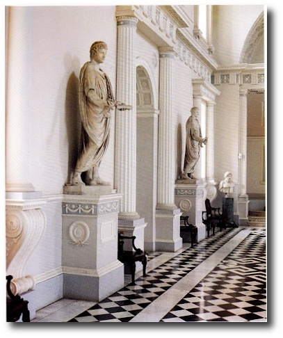John Fowler's Paint Scheme At Syon House From The Devoted Classicist Blog