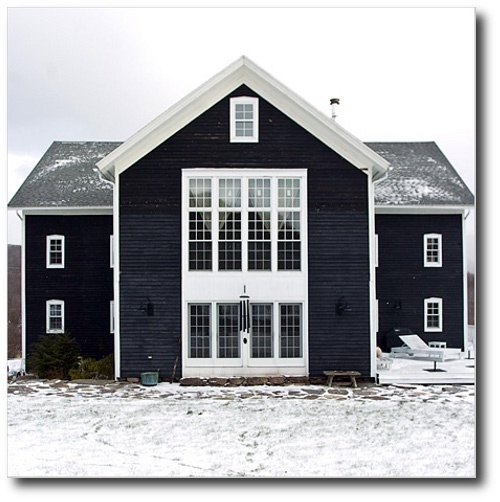 Black Exterior Shingled Homes