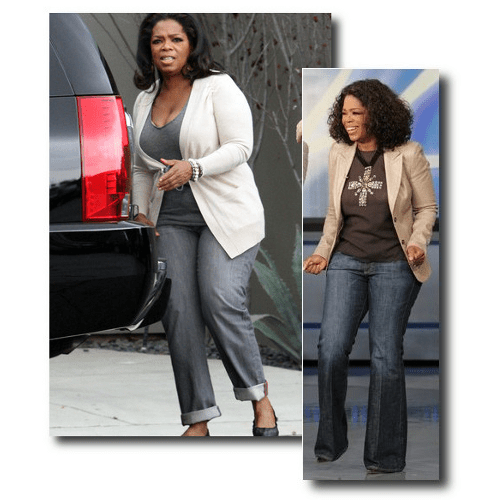 Fashionable Oprah In Jeans, Tags: The Best Plus Of 2015, Designer Plus Size, Plus Size Fashions, Plus Size Spring Summer, The Best Plus Size Fashions 2015, Hersite Blog Picks,