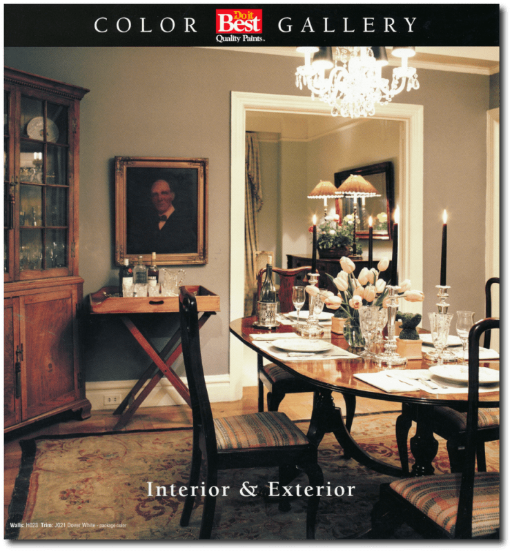 Perfectly Mixed Historic Paint Colors By Do It Best Paints