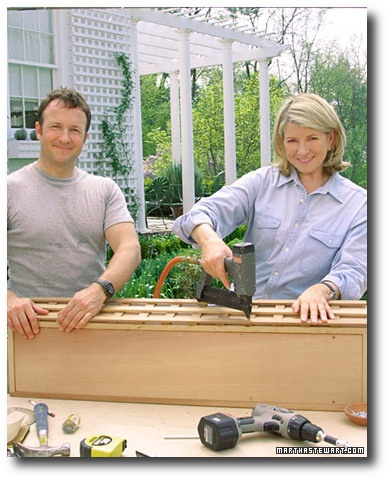Paul Robinson And Martha Stewart