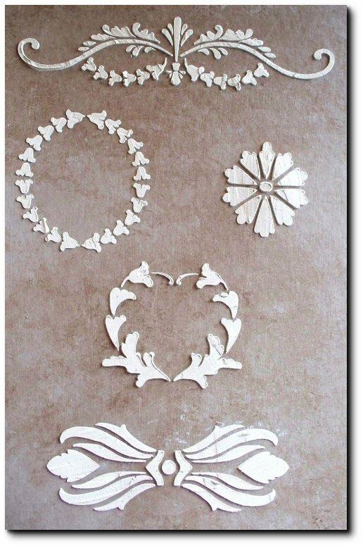 Victoria Larsen Raised Stencils On Ebay