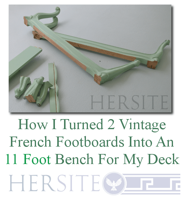 My French Twin Footboard 11 Foot Long Bench Hersite Blog
