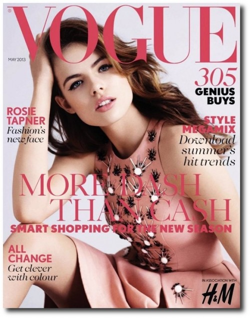 Spectacular Jeweled Top – Vogue UK May 2013 Cover – Rosie Tapner, Tags: The Best Plus Of 2015, Designer Plus Size, Plus Size Fashions, Plus Size Spring Summer, The Best Plus Size Fashions 2015, Hersite Blog Picks,