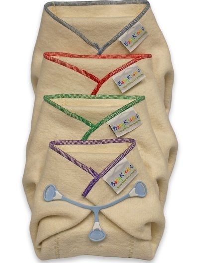 BabyKicks Hemparoo® Fleece Prefolds are made with the softest, thirstiest hemp fleece available
