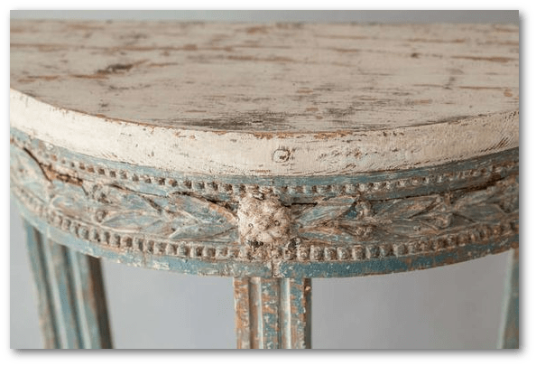 A Swedish Early Gustavian Period Console Table circa 1770 1st dibs - Swedish Furniture Design – What Makes The 1800's So Obsessive
