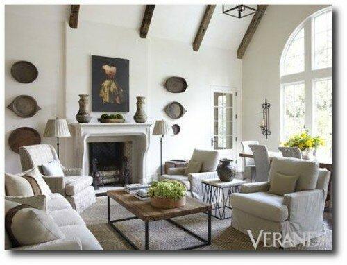 Simply Belgian interiors by Jim Howard, featured in Veranda