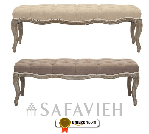 Safavieh Mercer Collection Randy Linen Bench
